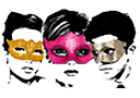 Superparty masks
